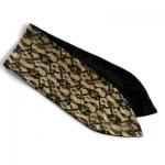 haarband met aluwire in goudkleur met kant en zwarte velours voor de Vintage Retro girls