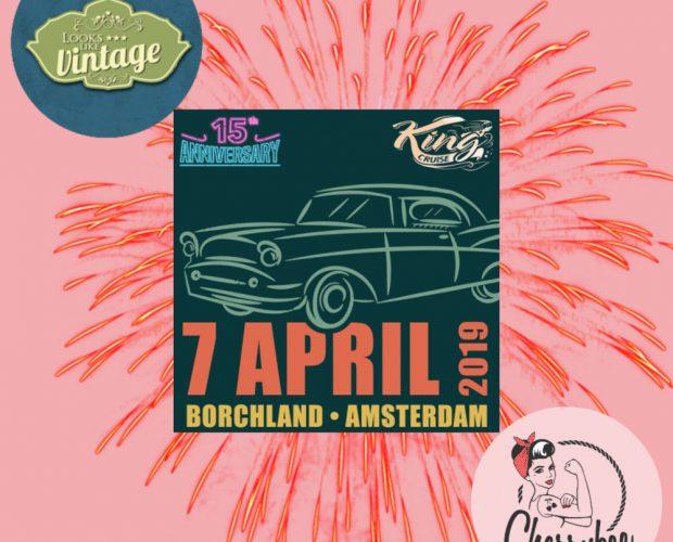 Looks Like Vintage met Cherrybee op King Cruise Amsterdam